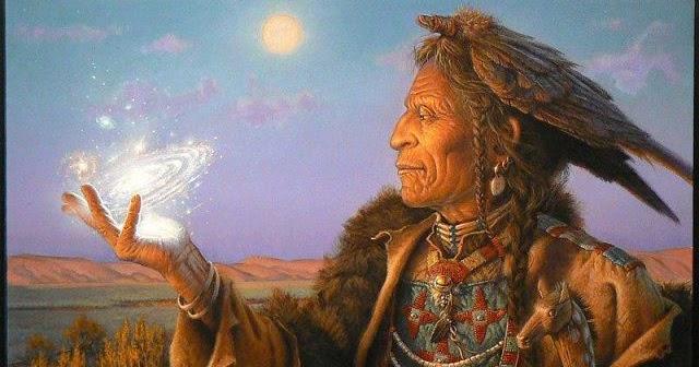 Энергетика человека глазами шаманов